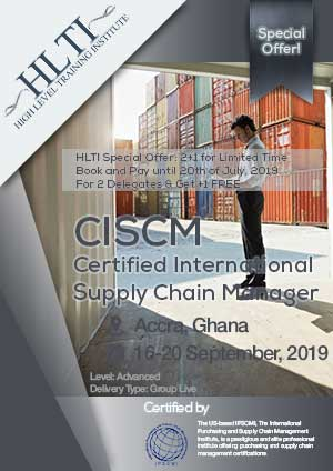 CISCM - Certified International Supply Chain Manager